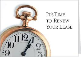 lease renewal form city view terrace